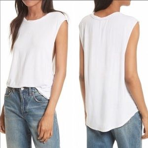 "NEW Free People ""The It"" Muscle Tee Size Medium"